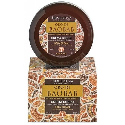 Erboristica Oro di Baobab tělový krém regenerační 150ml
