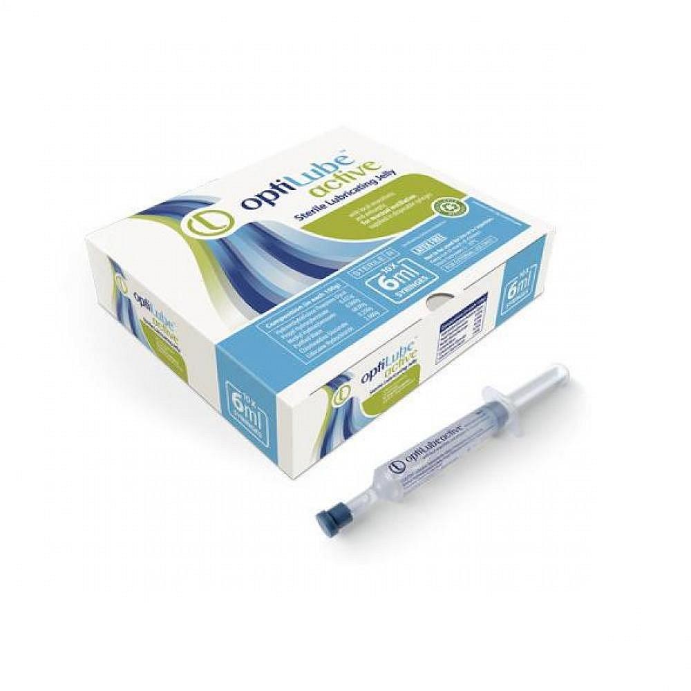 Gel lubrikační OptiLube Active stříkačka 11ml 10ks