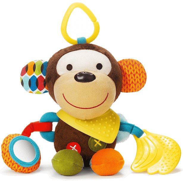 SKIP HOP Hračka na C kroužku aktivní Bandana Buddies Opička 0 m+