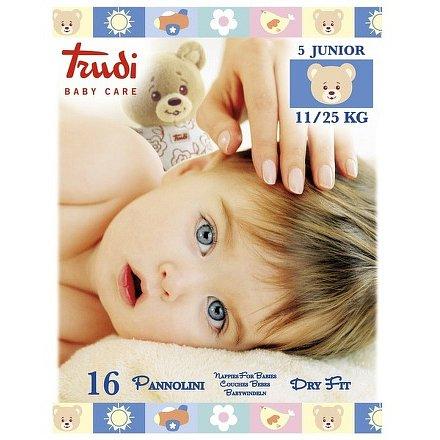 Trudi Dry Fit Dětské pleny Junior 11-25kg 16ks