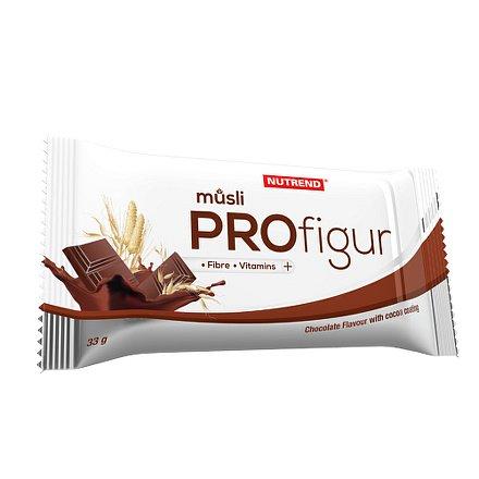 Tyčinka ProFigur Müsli 33g čokolád.s mléč.polevou