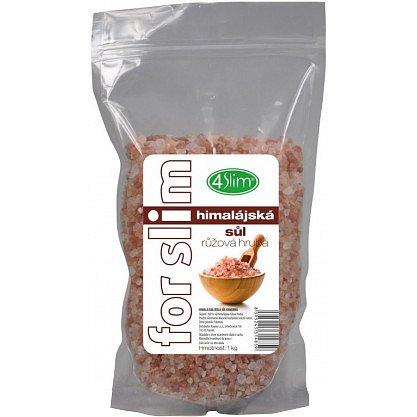 4slim Himalájská sůl růžová hrubá 1kg