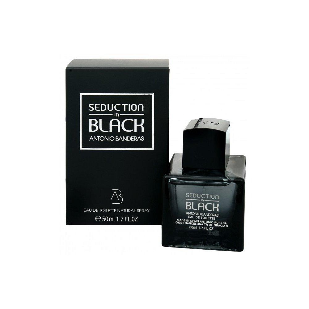 ANTONIO BANDERAS Seduction in Black Toaletní voda 50 ml