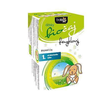 BABIO dětský biočaj fenyklový n.s.20x1.5g