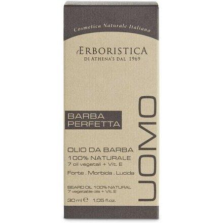 Erboristica UOMO Výživný olej s vitaminem E na vousy 30ml