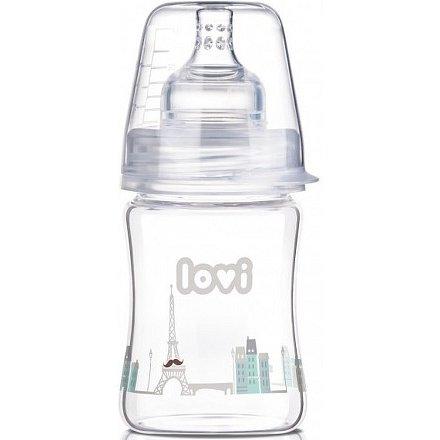 Láhev LOVI Diamond Glass 150ml Retro Boy