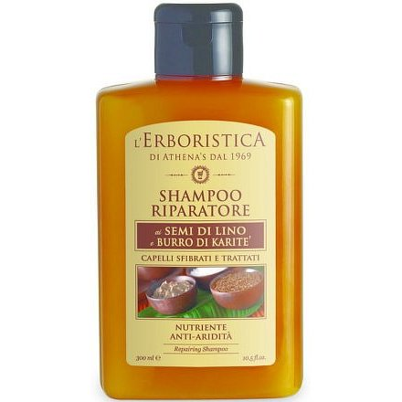 Erboristica Šampon reparační se lněným olejem 300ml