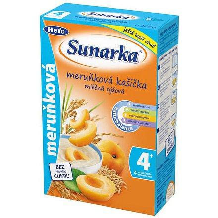 Sunarka meruňková kašička mléčná 225g