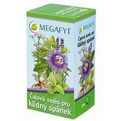 Megafyt Čaj.směs pro klidný spánek perorální léčivý čaj 20 x 2.1 g