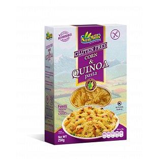 Bezlepkové kukuřičné těstoviny s quinoou 250g Sam Mills - vřetena