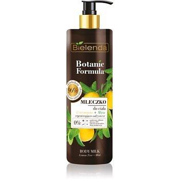 Bielenda Botanic Formula Lemon Tree Extract + Mint vyživující tělové mléko  400 ml