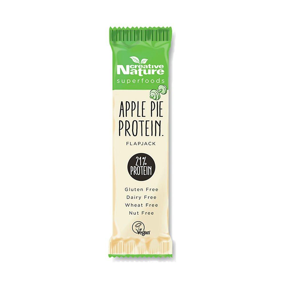 CREATIVE NATURE Protein Flapjack jablečný koláč 40g