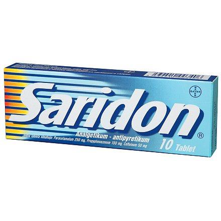 Saridon, por.tbl.nob.(10x)