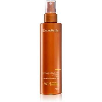 Academie Sun Protection Spray For Sun Intolerant Skin ochranný sprej na tělo při sluneční intoleranci SPF 50+ 150 ml