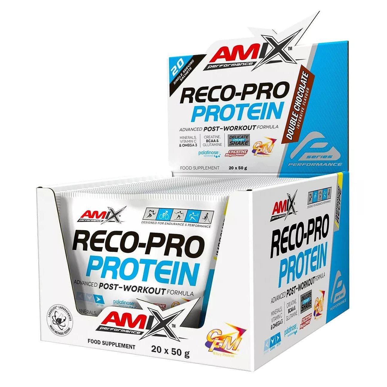 Amix Reco-Pro, Dvojitá čokoláda 20x50g