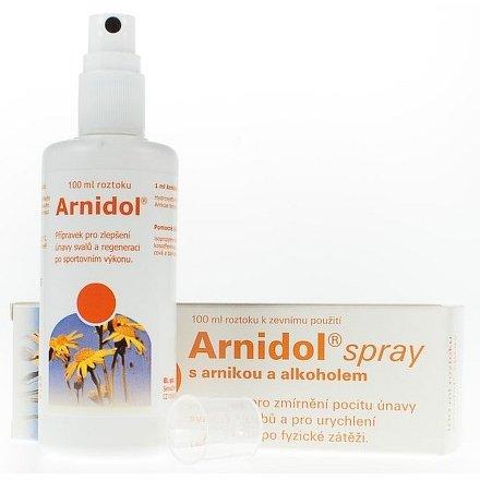 Arnidol spray sprej roztok 100 ml