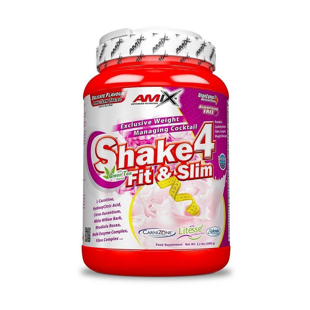 Shake4 Fit&Slim Strawberry 1000g