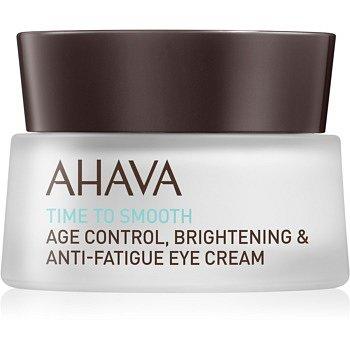 Ahava Time To Smooth hydratační oční krém s vyhlazujícím efektem  15 ml