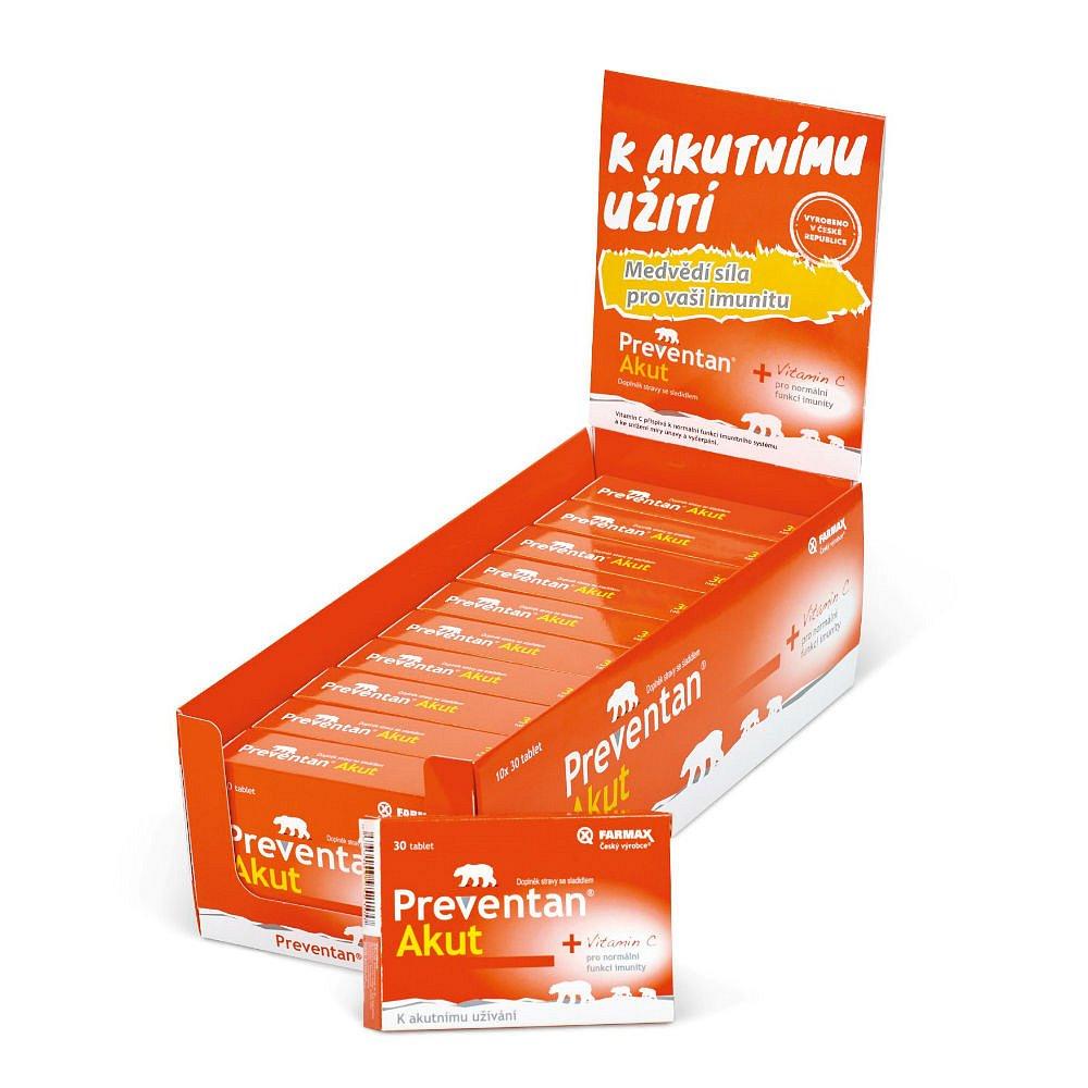 FARMAX Preventan Akut box 300 tablet