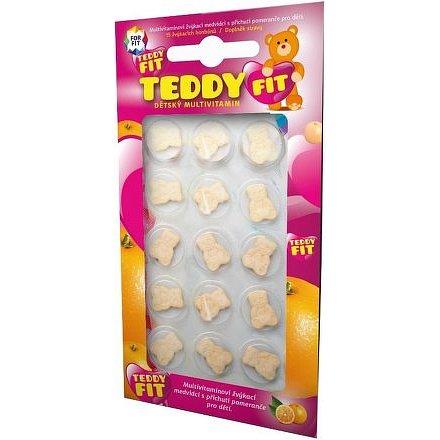 ForFit TeddyFit dětský multivit 15x15 žvýkacích bonbónů