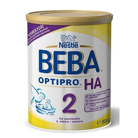 Nestlé BEBA Optipro HA 2, od 6. měsíce, 800g plech