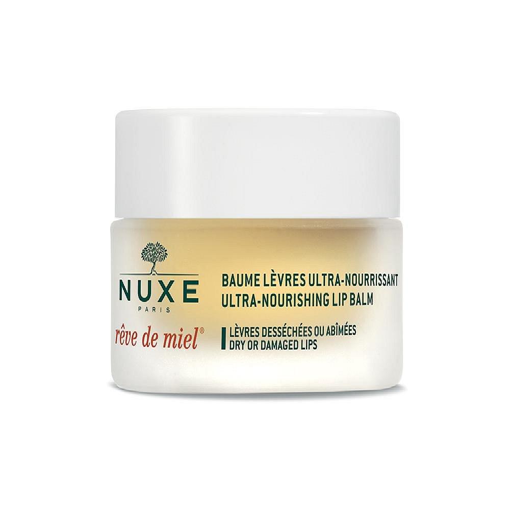 NUXE Reve de Miel Ultra Nourishing Lip Balm 15 g Pro vysušené a popraskané rty