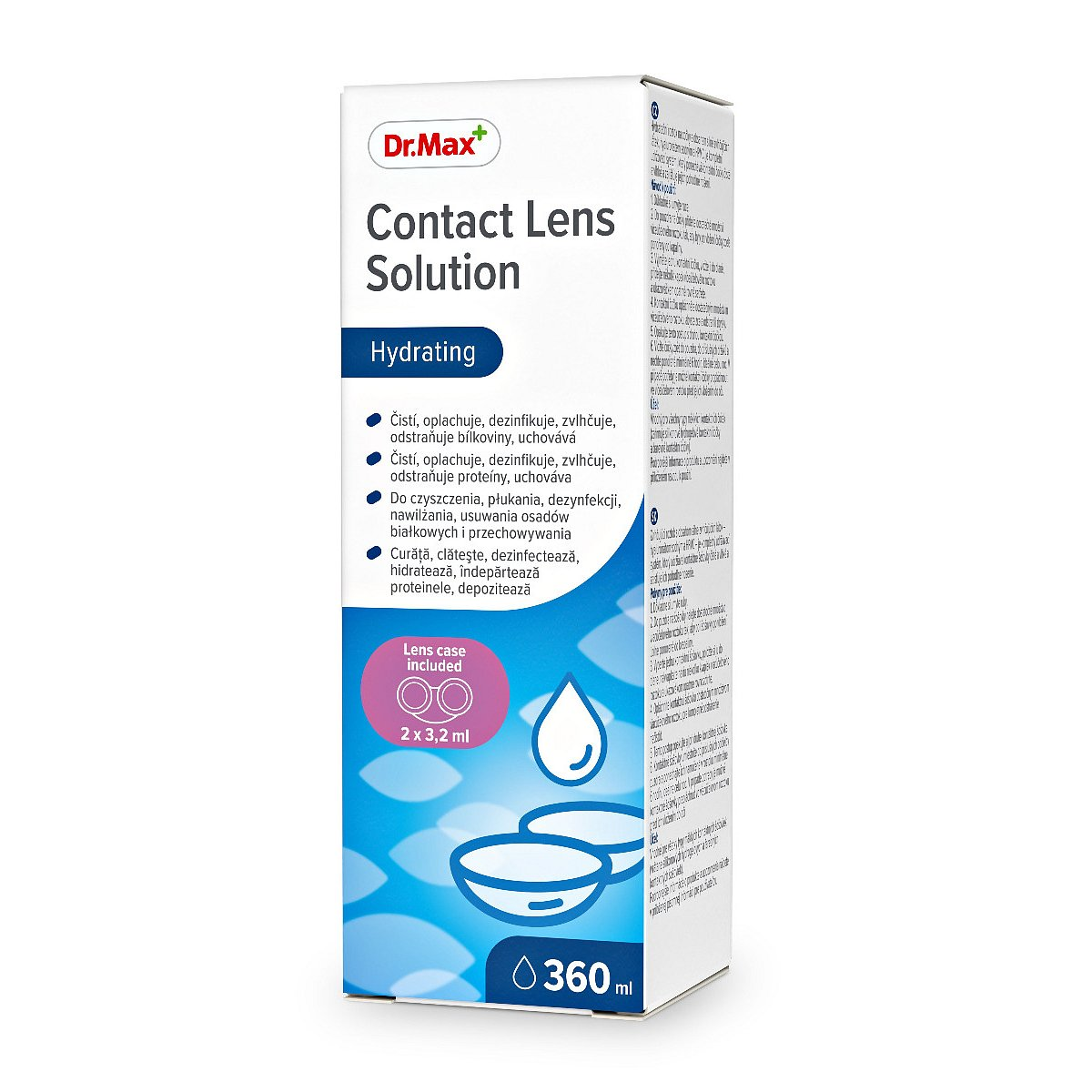 Dr.Max Contact Lens Solution roztok na kontaktní čočky 360 ml