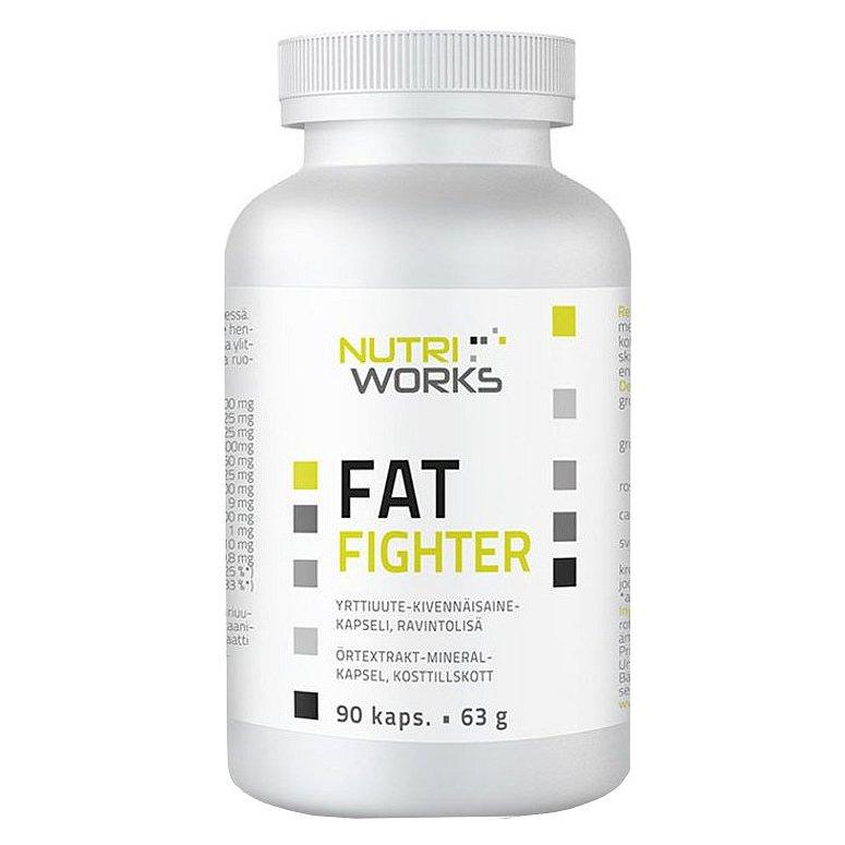 NutriWorks Fat Fighter 90 kapslí