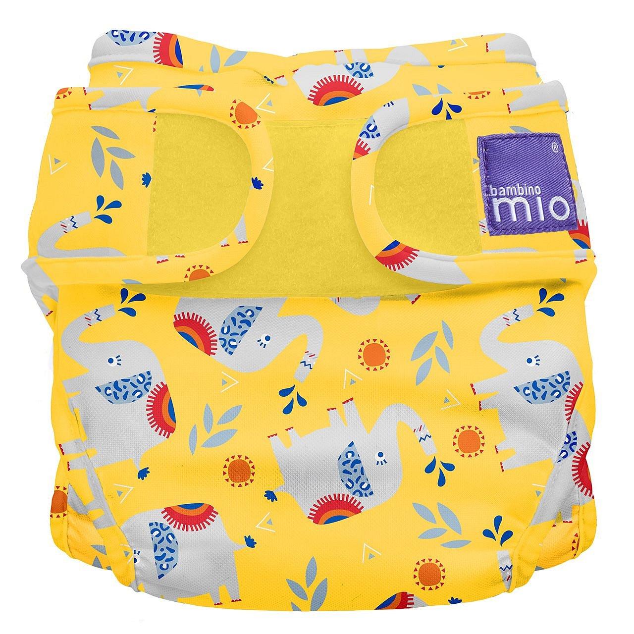 Bambino Mio Miosoft plenkové kalhotky Elephant Stomp 3-9kg