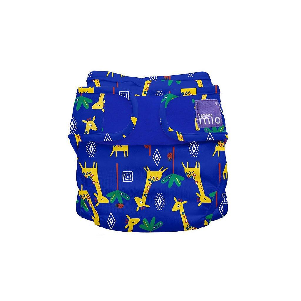 Bambino Mio Miosoft plenkové kalhotky Giraffe Jamboree 3-9kg