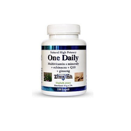TheraTech 04 One Daily vitamín +min.+echi.+Q 10 tablety 100