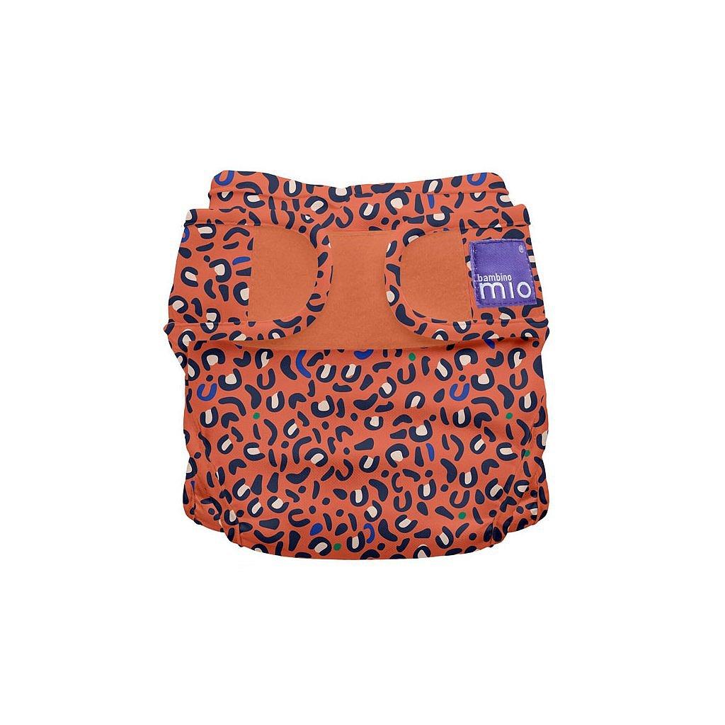 Bambino Mio Miosoft plenkové kalhotky Safari Spots 3-9kg