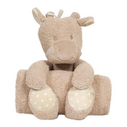 Bo Jungle plyšová hračka s dekou Giraffe