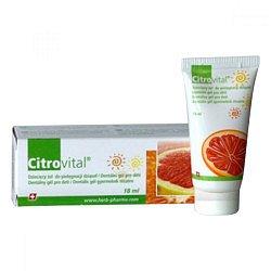 Citrovital Dentální gel pro děti 18 ml