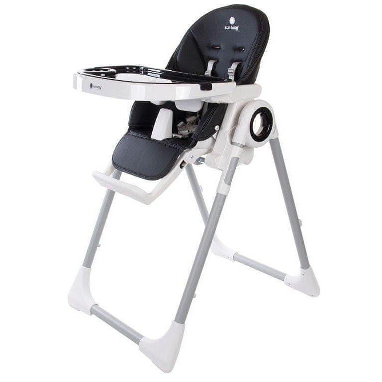 Sun baby Jídelní židlička FIDI B03.012.1.1. BLACK