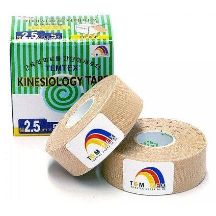 TEMTEX kinesio tape Classic béžový 2 x 2,5 cm