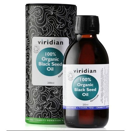 100% Organic Black Seed Oil 200ml