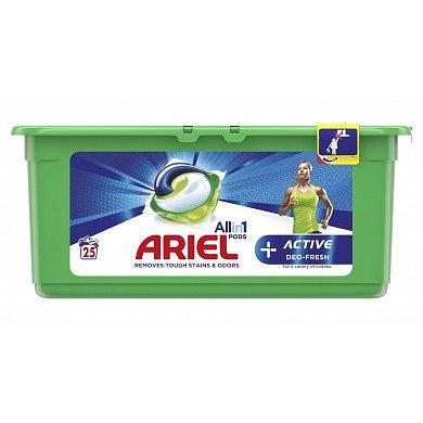 Ariel gelové kapsle Allin1 Deo Fresh 25ks