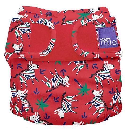 Bambino Mio Miosoft plenkové kalhotky Zebra Dazzle 3-9kg