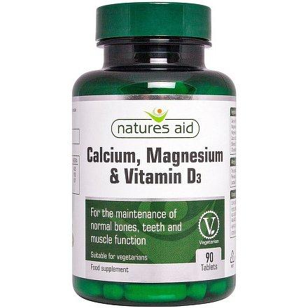 Vápník Hořčík + Vitamin D3