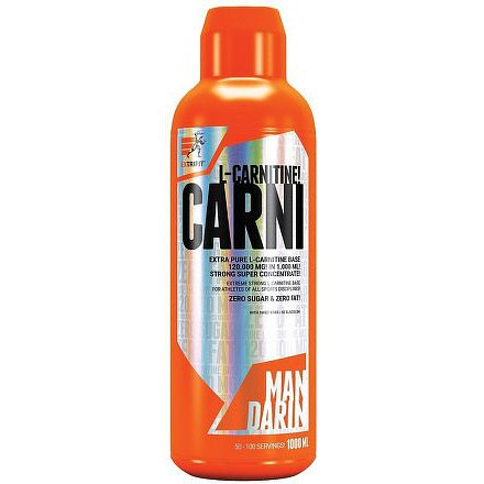 Carni 120000 Liquid 1000 ml mandarinka