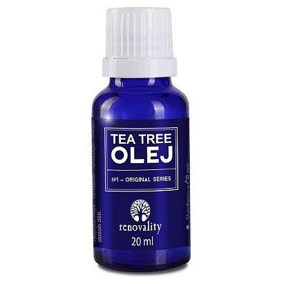 Tea Tree olej s kapátkem Renovality 20ml