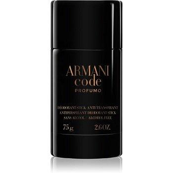 Armani Code Profumo deostick pro muže 75 g