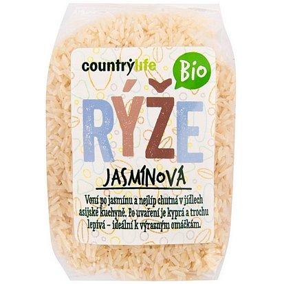 Country Life Rýže jasmínová BIO 500g