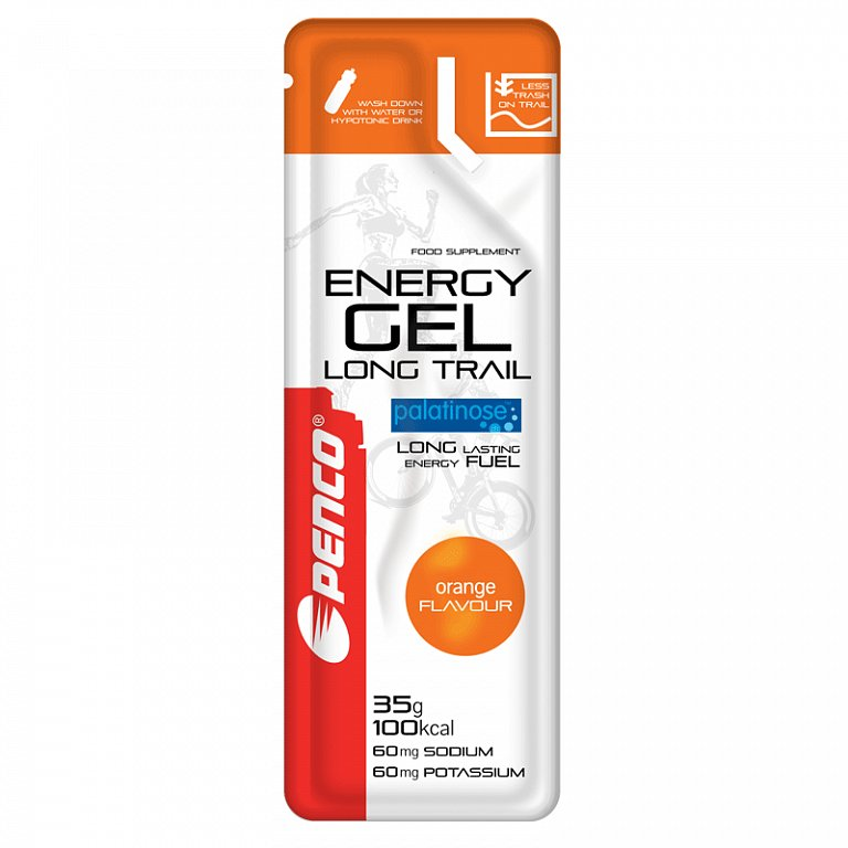 ENERGY GEL LONG TRAIL 35g Pomeranc