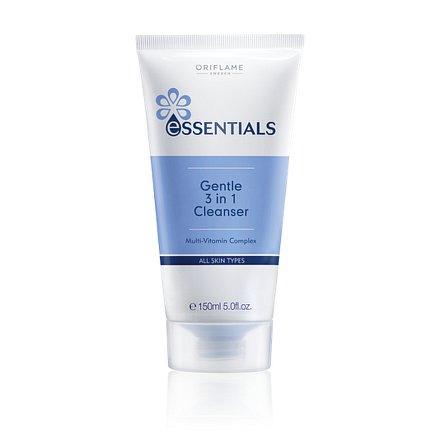 Oriflame Jemný čisticí pleťový gel 3v1 Essentials  150ml