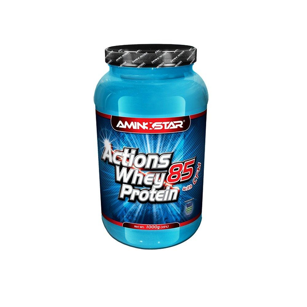 AMINOSTAR Whey protein Actions 85% 1000g čokoláda