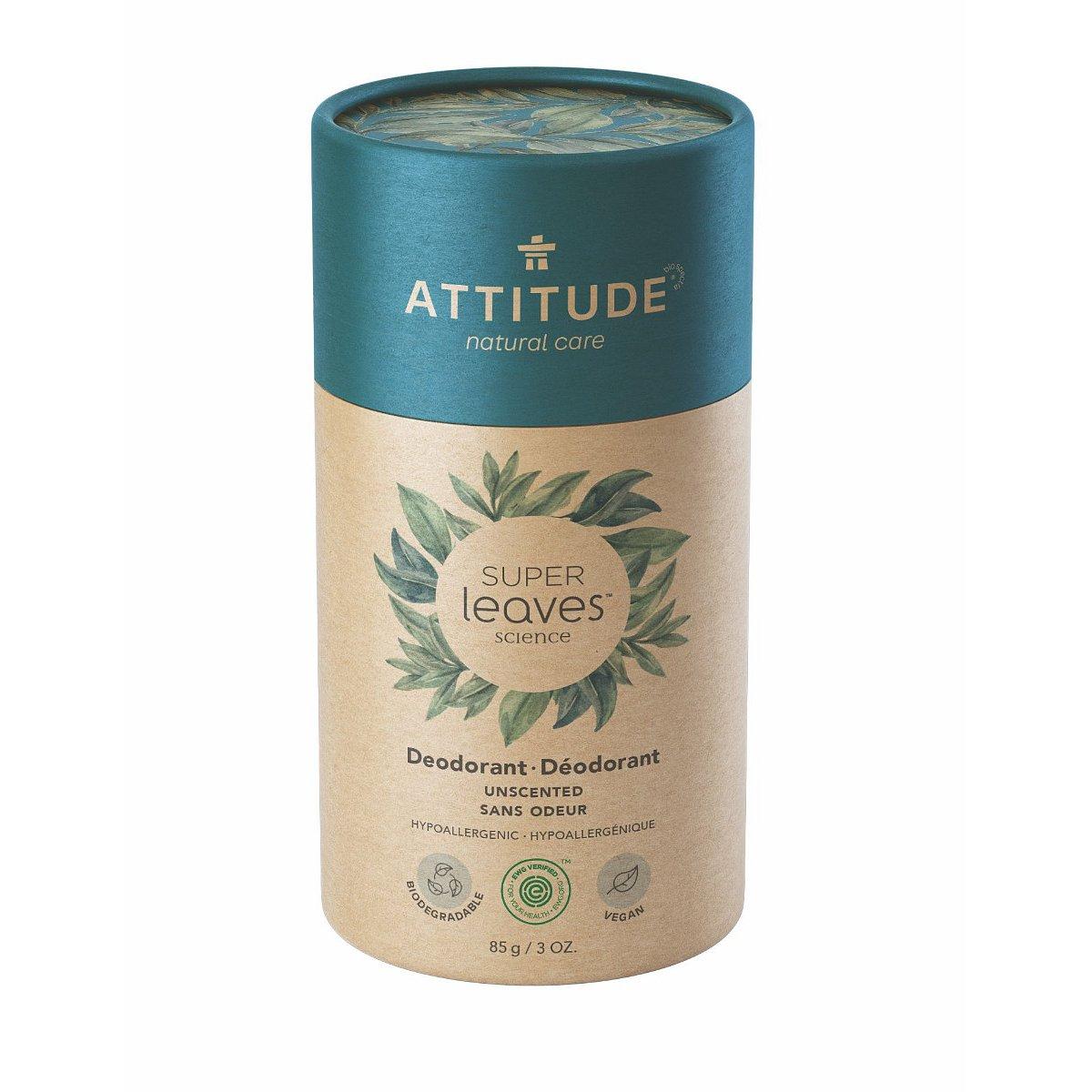ATTITUDE Přírodní tuhý deodorant bez vůně 85 g