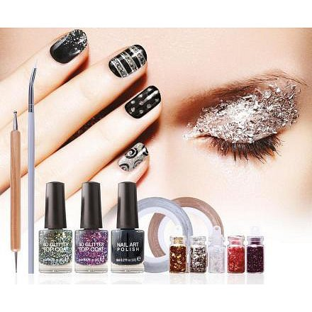 RIO NAIL ART - SHIMMER AND SPARKLE