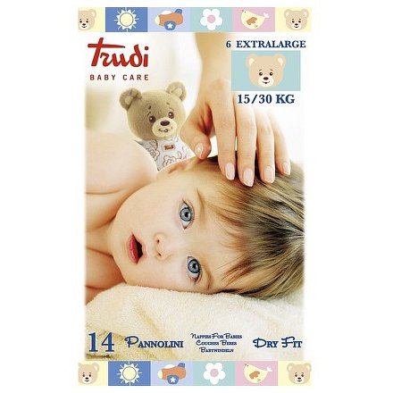 Trudi Dry Fit Dětské pleny XL 15-30kg 14ks